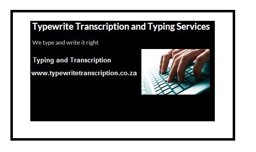 Dissertation Typing Servives